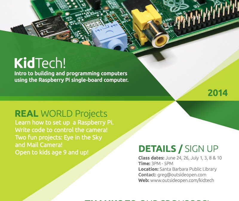 Raspberry Pi class for kids
